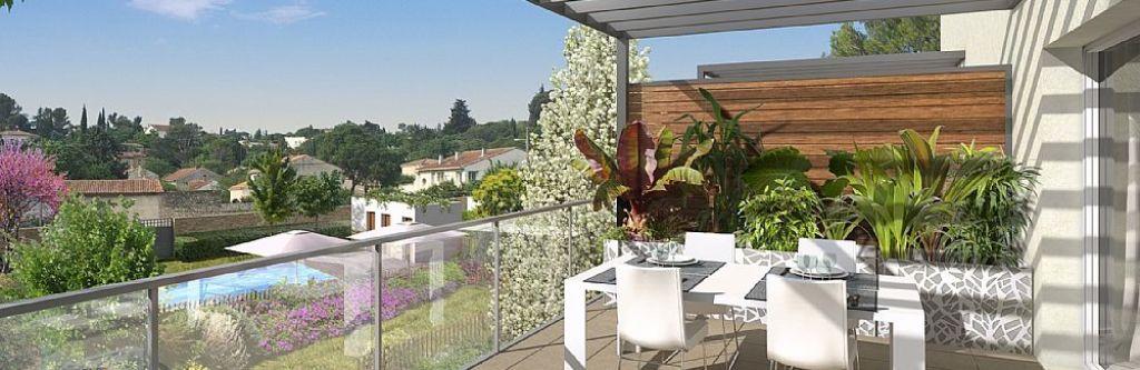 Côté Colline, programme immobilier 48 appartements, NIMES - GARD